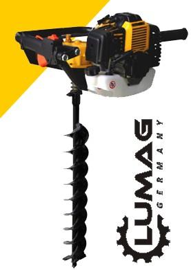 Půdní, zemní vrták - jamkovač Lumag EB 490G